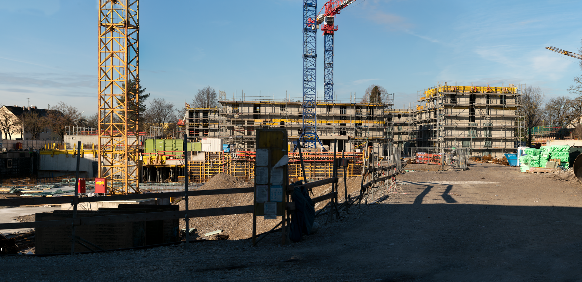 28.12.2018 - Baustelle TRULIVING in Trudering